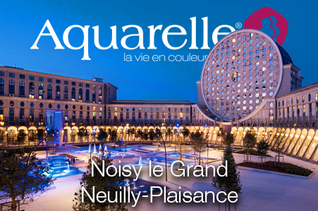 Aquarelle agence Noisy le Grand