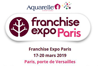 Aquarelle Franchise Expo Paris 2019
